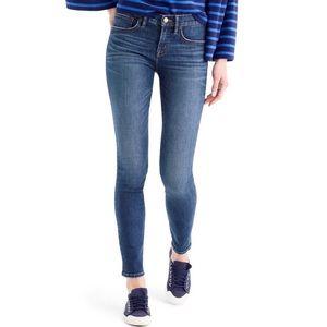 J.Crew Toothpick Skinny Jeans Size 27 Medium Wash